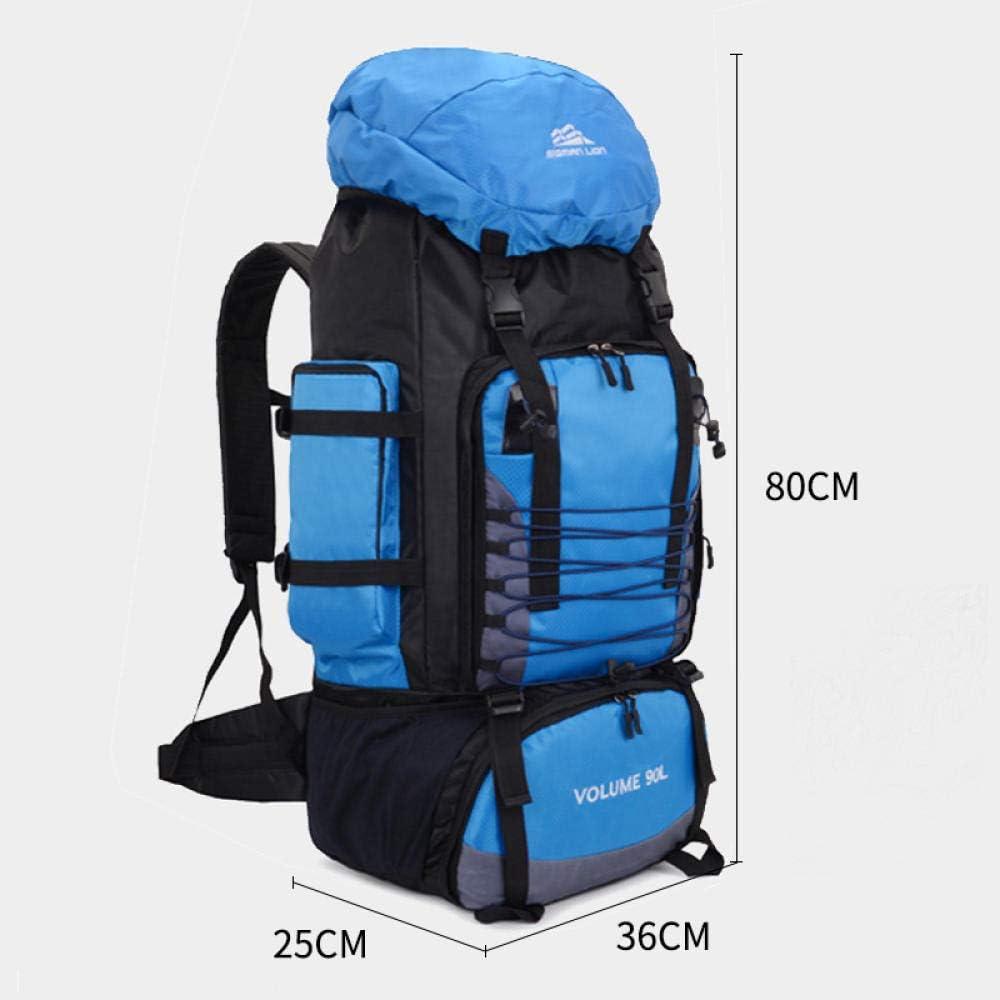 LEIHONGJIE 90L Voyage Camping Sac /À Dos Sac /À Dos Randonn/ée Arm/ée Alpinisme Sac Randonn/ée Montagne Mochila Grande Capacit/é Blaso Sport XA857WA