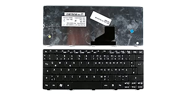 Gateway LT2122u Gateway LT2123u Keyboards4Laptops German Layout Black Laptop Keyboard Compatible with Gateway LT2120u