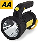 Emergency Lantern AA Car Essentials 2 in 1 Powerful Spot Torch with LED Camping Lantern for Travel, Hiking, Fishing - Fla