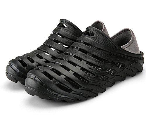 Zoccoli EU40 Flip Casual Pantofole Taglia Scarpe Summer scivolose da Gray Flops Closed uomo NSLXIE morbide 39 Sandali Non Toe EVA Black 43 Beach Sandali xCYqxwpBS