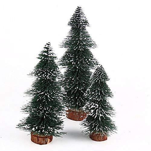 ASERTYL Christmas Tree Mini Christmas Tree Stick White Cedar Desktop Small Christmas Tree Christmas Table Decoration 20m ()