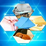 Jocestyle 10pcs Disposable Bedsheet for Beauty Salon, Massage,Tattoo, Hotels, Mattress Cover, Daily Life Use(White Color)