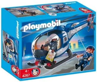 Playmobil Police Copter 4267