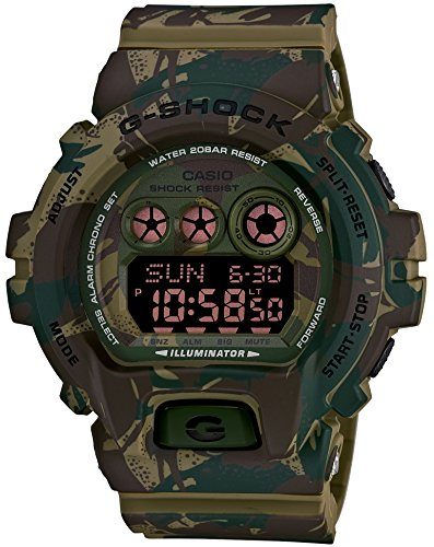 CASIO G SHOCK Camouflage GD X6900MC 3JR Japan