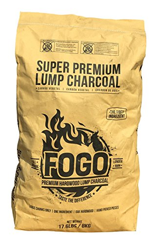 (Fogo Super Premium Hardwood Lump Charcoal 17.6-pound)