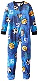 Komar Kids Big Boys' Sports Fleece Blanket Sleeper