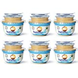 Organic Fresh Hummus, Garlic and Lemon (Pack of 6, each 7 ounces) wholesome, healthy snacking on the go