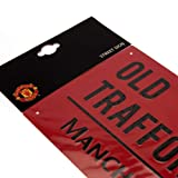 Manchester United FC Street Sign Red - Metal