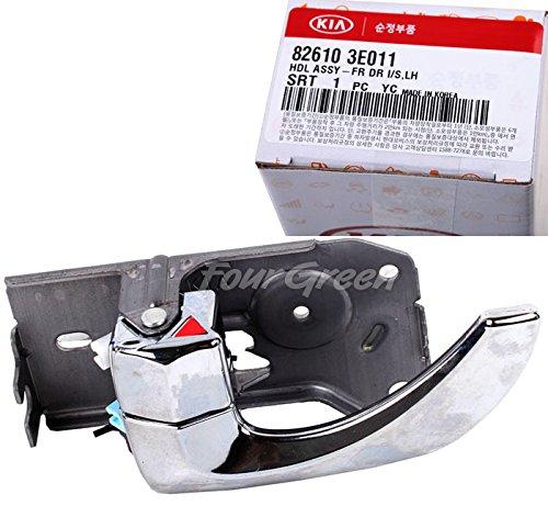 OEM Inside Door Handle Front Left Side for Kia 03-09 Sorento OEM NEW [826103E011] (Side Front Door Cap)