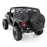 Smittybilt 571035 Black Diamond C.RES System Cargo Net for Jeep Wrangler