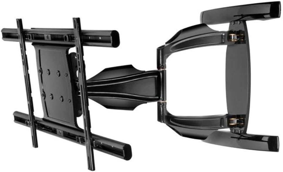 Peerless Full-Motion Plus Wall Mount for 39-Inch - 75-Inch Flat Panel Screens (Black)
