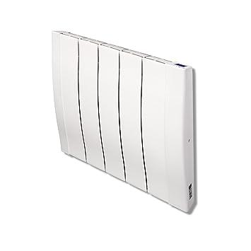 HAVERLAND RC5W Emisor térmico de inercia a fundición de Aluminio 800W, 800 W, Blanco