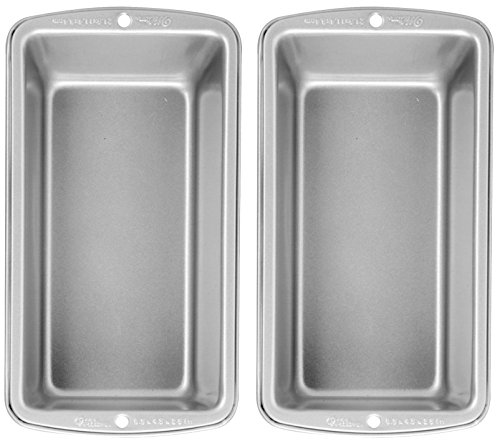 Wilton Recipe Right Medium Loaf Pan, Pack of 2