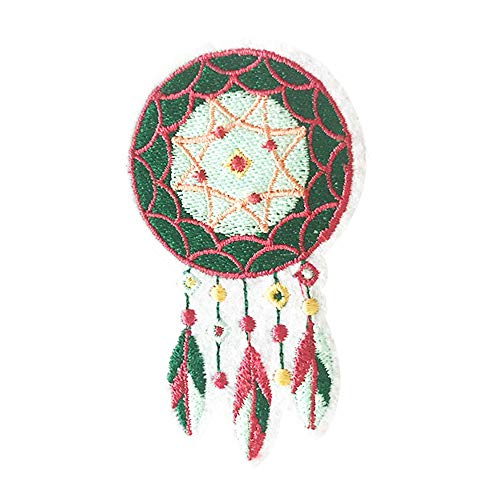 - 2 Pcs Cute Dreamcatcher Delicate Embroidered Patches, Cute Embroidery Patches, Iron On Patches, Sew On Applique Patch,Cool Patches for Men, Women, Kids