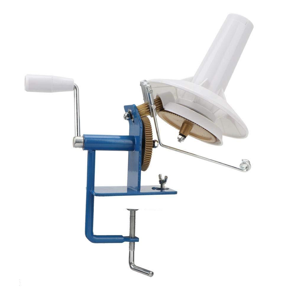 Yarn Winder Household Yarn Wool Winder Hand-Shake Table Winding Machine Metal Handle Winding Lines Machine Sewing Accessories