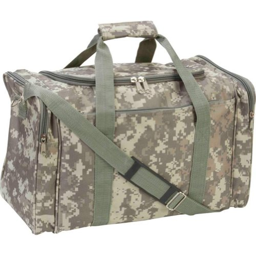 Extreme Digital Camo Water Resistant Duffle