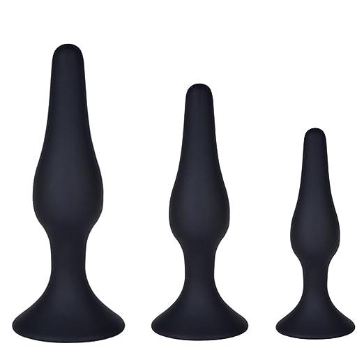 30 opinioni per Utimi Plugs in silicone nero 3pezzi