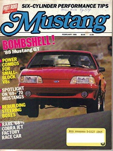 Mustang Magazine, February 1988 (Vol. 6, No. 1)