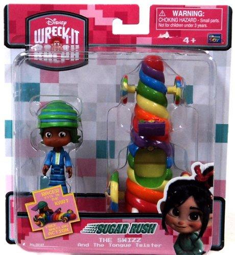 Sugar Rush swizzle-malarkey (THE SWIZZ) tongue twister racing car