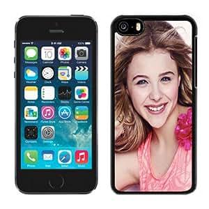 New Personalized Custom Designed For iPhone 5C Phone Case For Chloe Moretz Seventeen Magazine 640x1136 Phone Case Cover