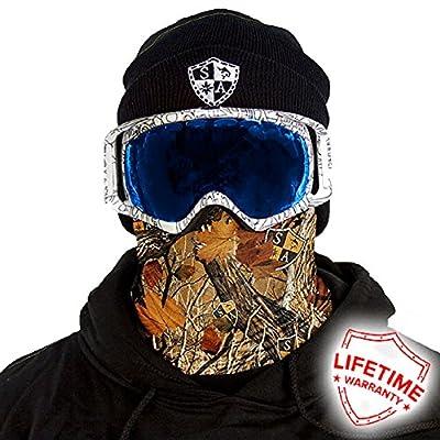 Thermal Winter Fleece Face Mask Snow Snowboard Shield Protective Balaclava Alpha Defense Salt Armour