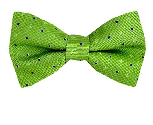 Men's Fashion Designer Silk Pre-tied Bowtie - Green