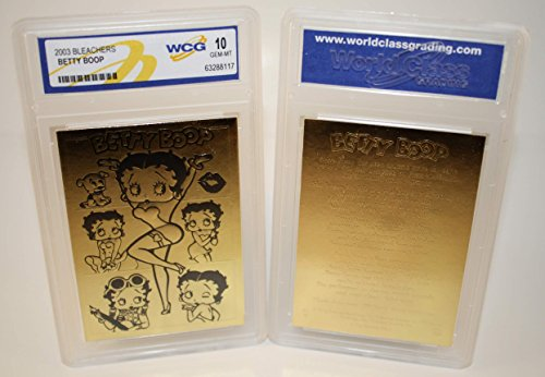 BETTY BOOP 23K Gold Card Sculptured * Officially Licensed * Graded GEM MINT 10 ()