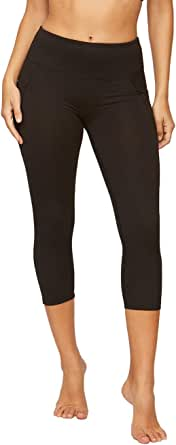 Colosseum Active Women's Nadia High Rise Spandex Blend Capri Legging with Pockets