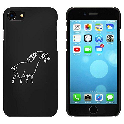 Noir 'Chèvre Grignotant' étui / housse pour iPhone 7 (MC00062533)