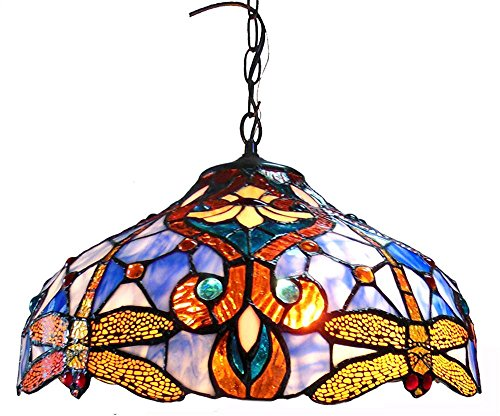 chloe-lighting-ch1b717bd17-dh2-julia-tiffany-style-dragonfly-2-light-ceiling-pendant-fixture-with-17