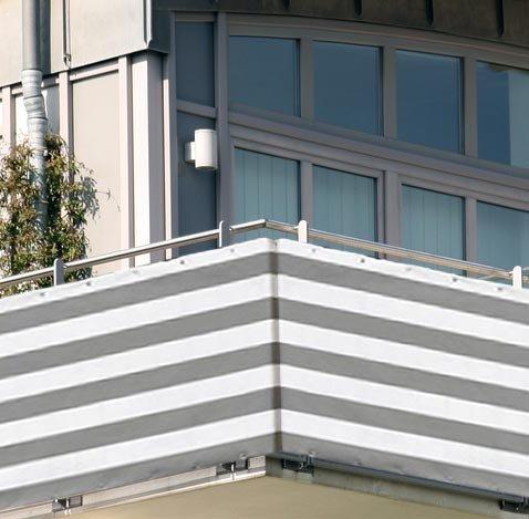 5x0,9m Balkon Sichtschutz Windschutz atmungsaktiv Modell ELECSA 361