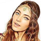 Changeshopping(TM)Fatima Metal Head Chain Jewelry Chain Headband Head Piece Hair Band