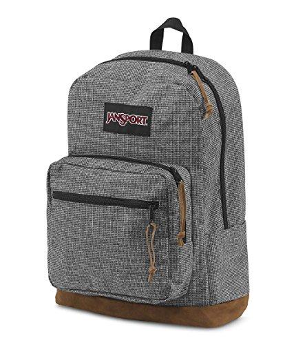 Jansport Right-Paket Digital Edition Rucksack Gray Houndstooth Check