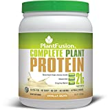 PlantFusion Complete Plant Based Protein Powder, Vanilla Bean, 1 Lb Tub, 15 Servings, 1 Count, Gluten Free, Vegan, Non-GMO