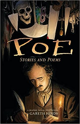 Amazon com: Poe: Stories and Poems: A Graphic Novel