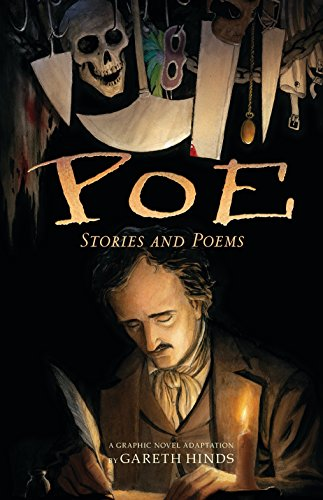 Poe: Stories and Poems: A Graphic Novel Adaptation by Gareth Hinds (Best Poems For Kids)