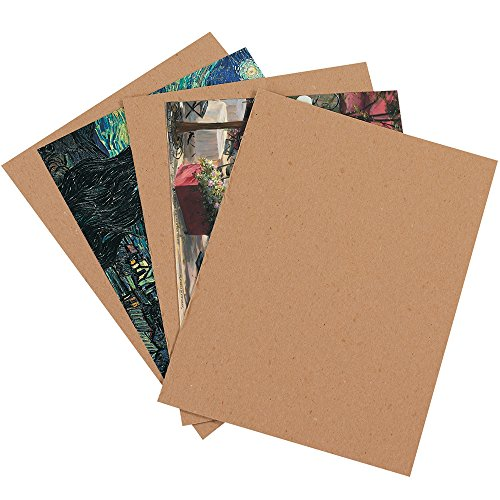 Aviditi CP2436 Chipboard Pad, 0.022 Point Fibreboard, 36'' Length x 24'' Width, Kraft (Case of 110) by Aviditi