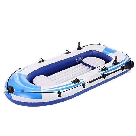 Piscina Hinchable Barco Inflable Kayak De Pesca Agua Bote ...