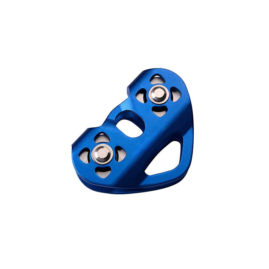Amotor Mountaineering Climbing Rock 30KN / 6700lbs Zip Line/Wire Cable Trolley Pulley