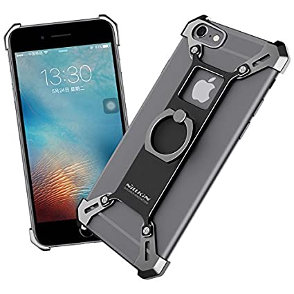 Amazon.com: Para iPhone 6 6S Caso, Nillkin Barde metal Case ...