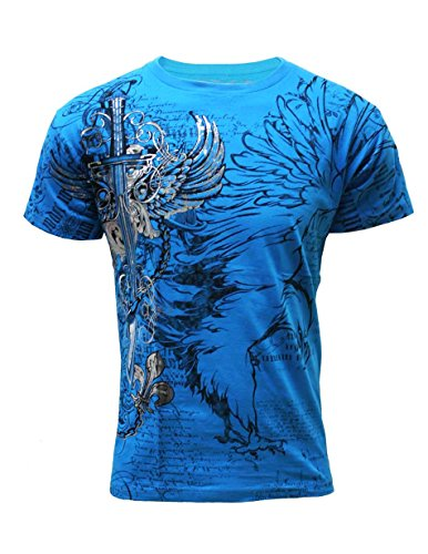 Konflic Men's All Over Print MMA Style Short Sleeve T-Shirts - T724TQ-S
