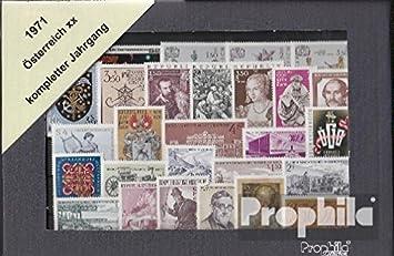 1353-1380 Postfrisch Österreich Jahrgang 1971 Michel Nr Österreich