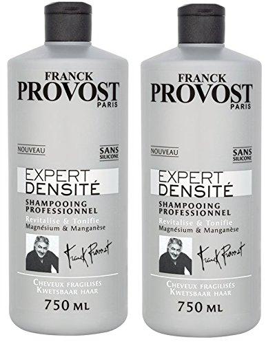 Franck Provost - Densidad Experto Champú 750ml - Juego de 2: Amazon.es: Belleza