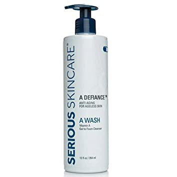 Amazon Com Serious Skin Care A Wash Cleanser Facial Cleansing Products Beauty