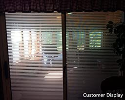 Coavas Office Window Film Frosted Static Cling Privacy Film ,17.5 By 78.7 Inches