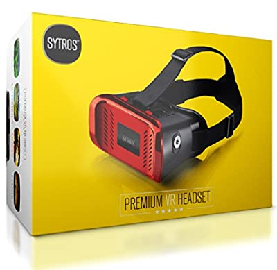 Sytros VR Headset with Magnetic Button Trigger for Smartphones by Sytros