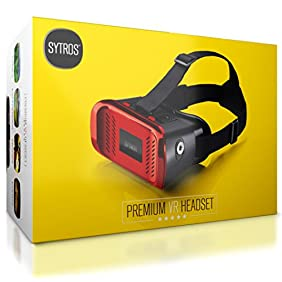Sytros VR Headset with Magnetic Button Trigger for Smartphones