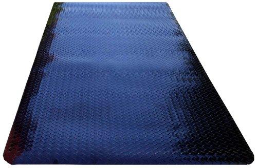 Durable Corporation Metallic Diamond-Dek Runner Industrial Mat, for Dry Floors, 36