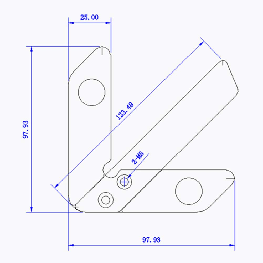 FireAngels R/ègle ronde en forme de c/œur pour menuisier Rouge Angle droit Outil de mesure Calibre de travail du bois Pr/écision 45//90 degr/és