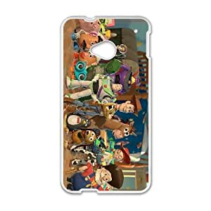 HTC One M7 phone cases White Disneys Toy Story Phone cover KLW4135682